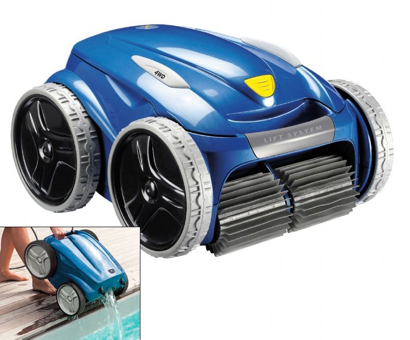 Poolroboter Vortex Lift System